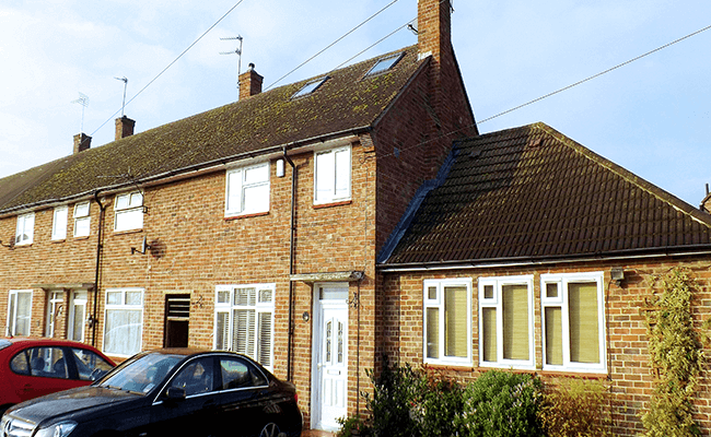 Semi-detached property near Loughton